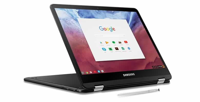 what is a chromebook - a convertible chromebook