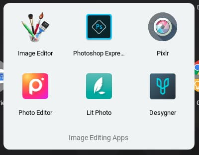 How to tidy up apps by grouping them together on a Chromebook
