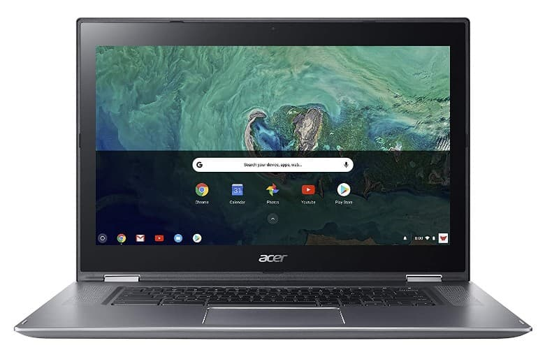 The Acer Spin 15 is in ninth position on the 2019 best chromebook buying guide.