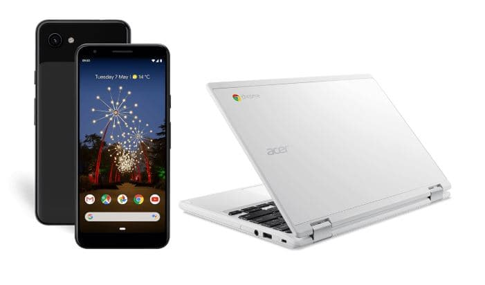Free Chromebook when you buy a Pixel 3A phone
