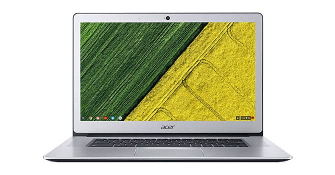 Large displays are rare on a Chromebook
