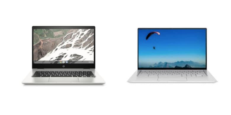 Chromebook Comparison - Asus C434 vs HP x 360 Chromebook