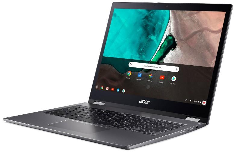 Acer Spin 13 comes with 8th generation Intel i3 processor and 8GB of RAM