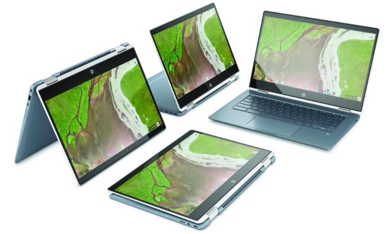 The HP x 360 Chromebook is better than the Dell Inspiron 14 in this comparison.