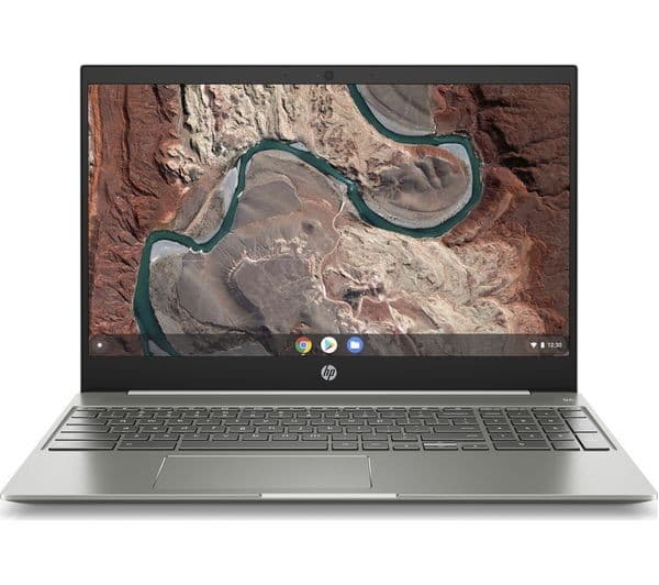The HP Chromebook 15 comes with a separate number pad