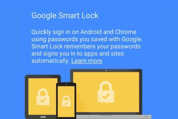 Google Smart Lock is ideal for Chromebook users