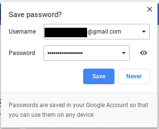 How to add passwords to google smart lock