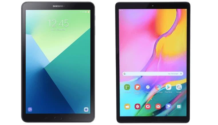 Samsung Galaxy Tab A 10.1 2019 edition vs 2016 edition