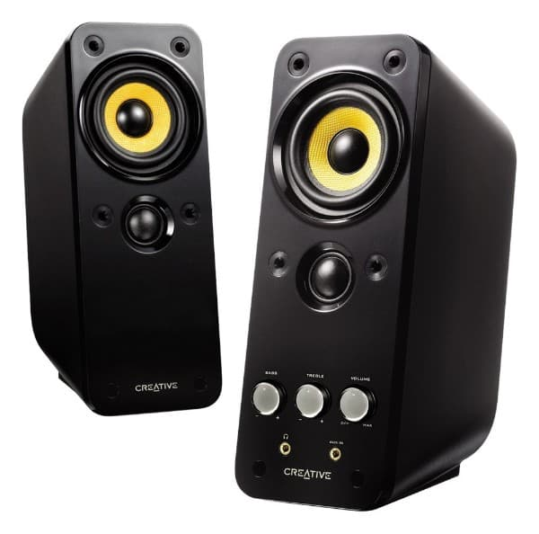 Creative Gigawork external speakers offer quality sound for your Chromebox