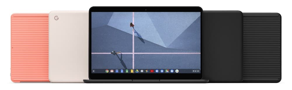 Pixelbook Go available in black and pink