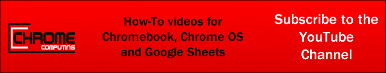 Subscribe to the Chrome Computing YouTube channel