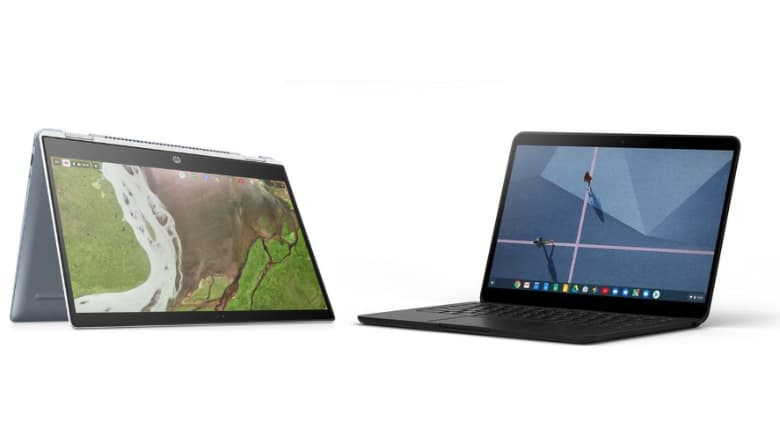 Chromebook Comparison - The Pixelbook Go vs HP x 360 Chromebook
