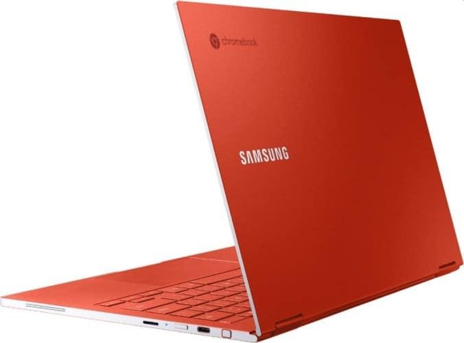 Samsung Galaxy Chromebook with AMOLED and 4K display