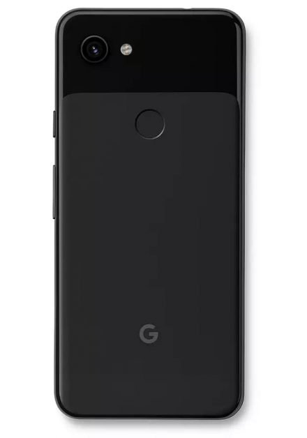Pixel 3A is available in black