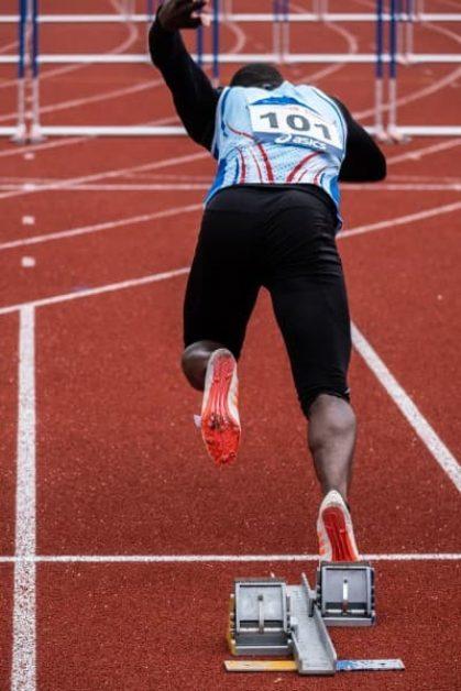 A man running - Chromebooks fast off the mark