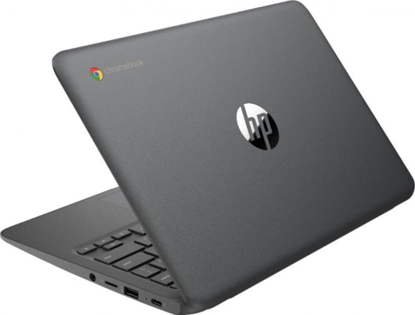 HP Chromebook 11a has a nice grey smart looking chassis