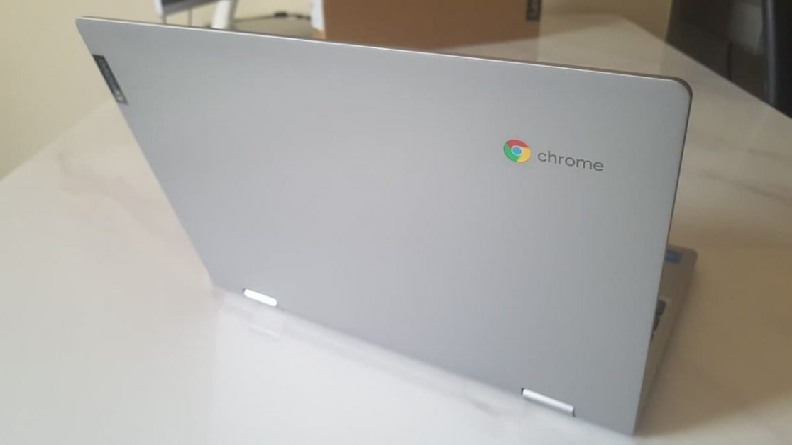 Lenovo C340 Chromebook looks cool with aluminium lid