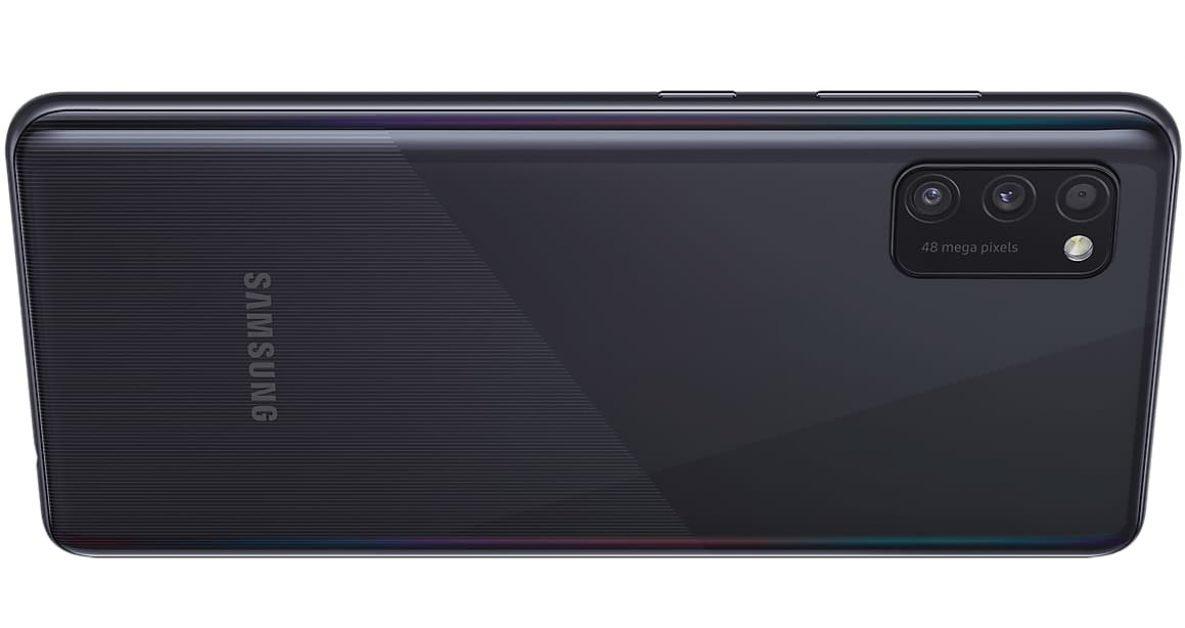 Samsung A41 comes with three rear facing cameras