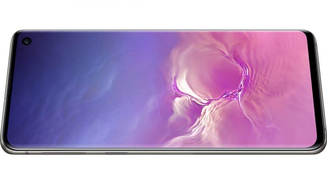 Samsung Galaxy S10 has a Super AMOLED display