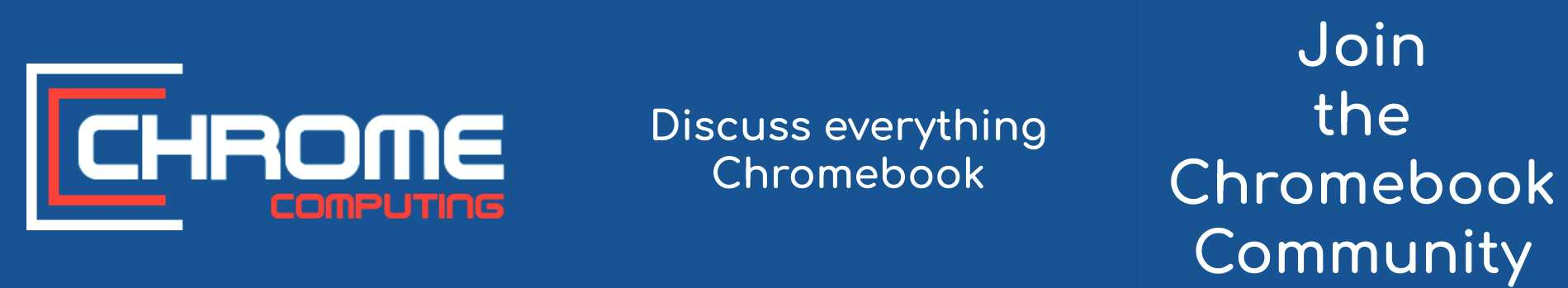 Join the Chromebook Community