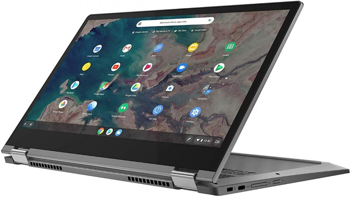 Hybrid design and excellent connectivity from the Lenovo Flex 5 Chromebook