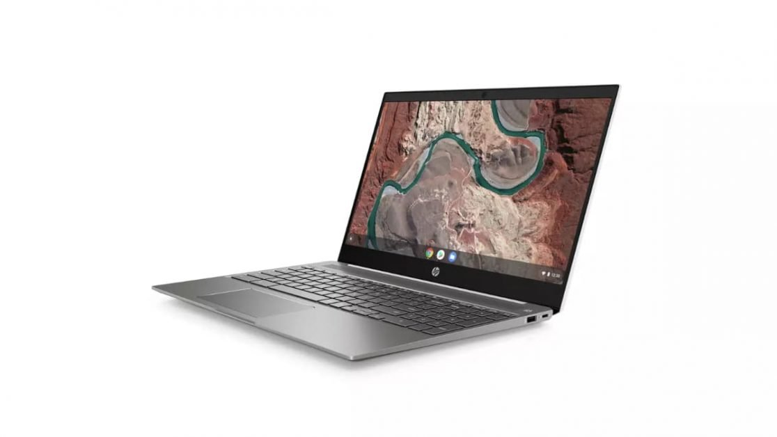The IPS panel on the HP 15B Chromebook