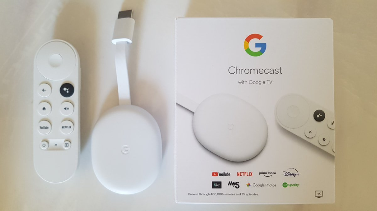 Chromecast with Google TV and remote is amazing
