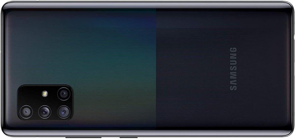 Galaxy A71 build quality