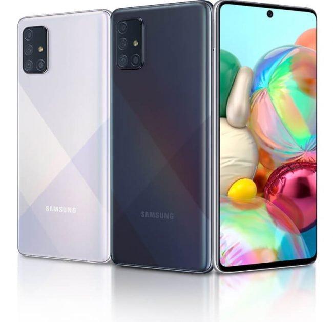 Samsung Galaxy A71 Super AMOLED display