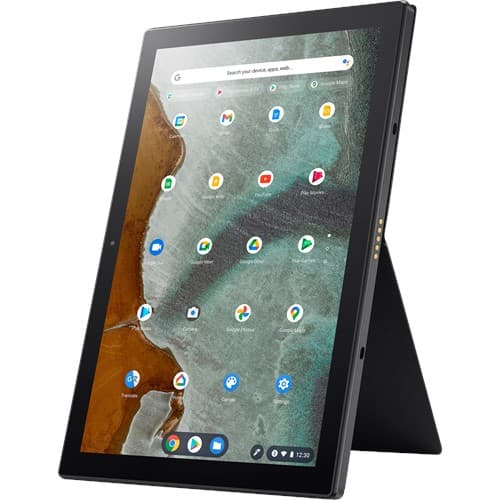 Asus Chromebook detachable CM3000 in portrait mode