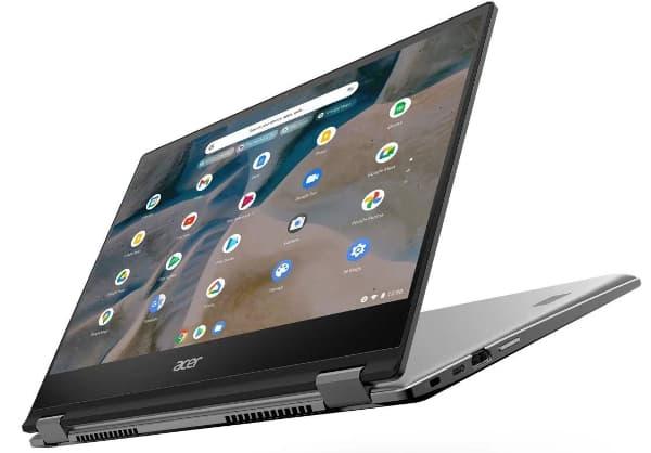 An Acer Chromebook