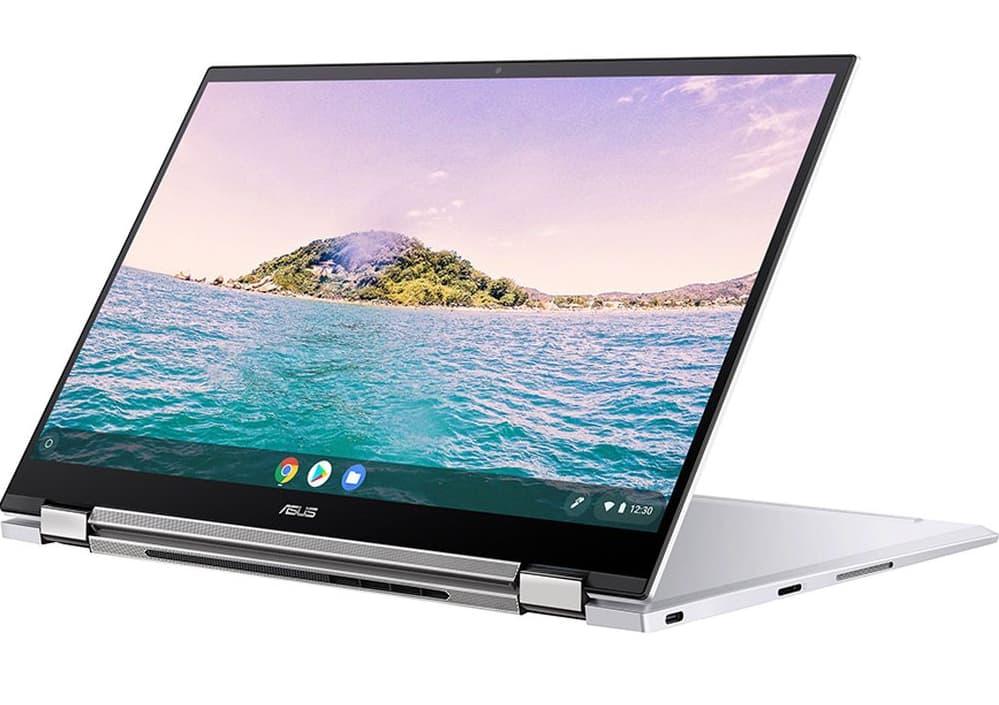 Asus C436 Chromebook in tent mode