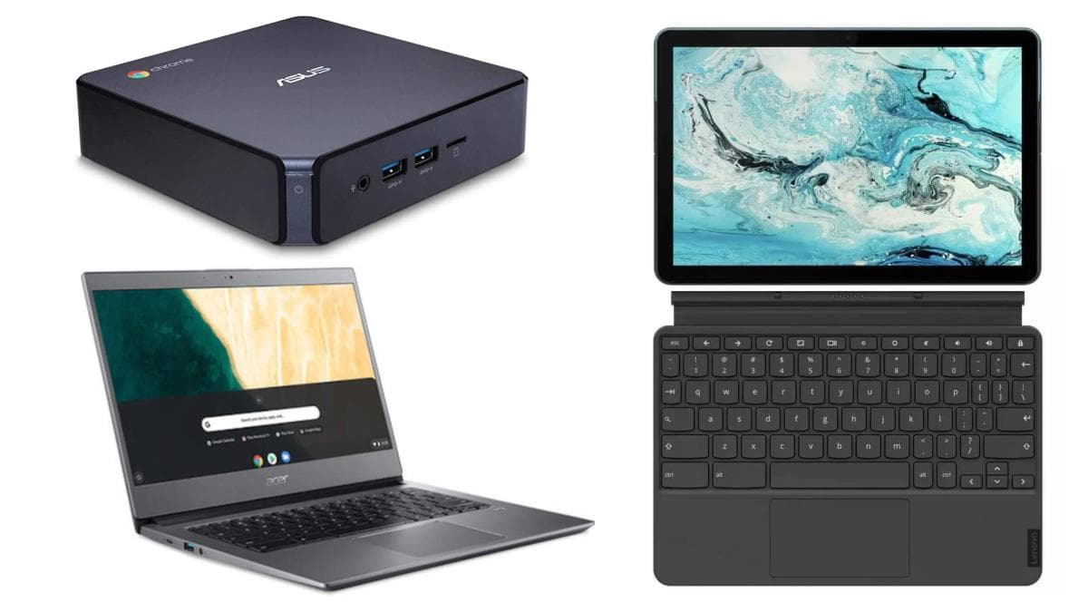 Chromebook vs detachable Chromebook vs Chromebox - which is best