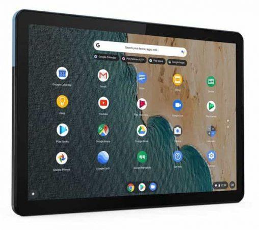 A Chrome OS tablet