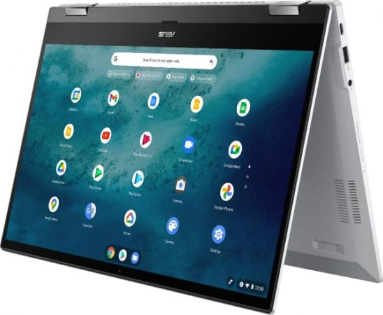 Asus CX5 Chromebook in tent mode