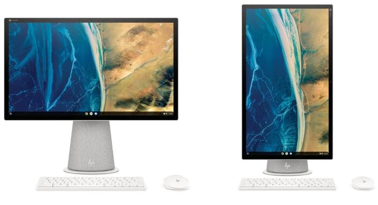 The new HP Chromebase looks the part