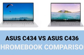 Asus C434 vs C436 – Chromebook Comparison