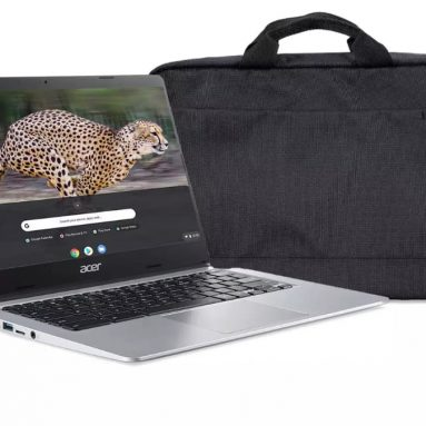 Acer Chromebook with mouse and bag for £259.99