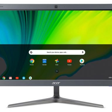 A Chromebase is perfect if you have little desktop space