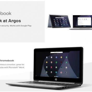 Argos has a new Chromebook landing page to help you make the switch