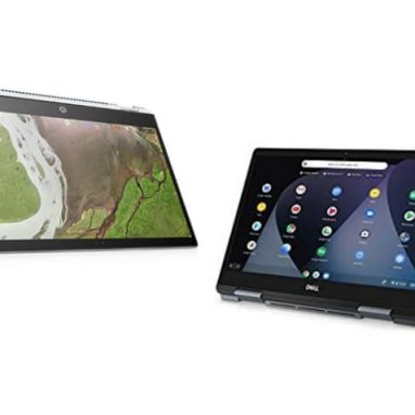 Chromebook Comparison – The HP x 360 vs the Dell Inspiron 14
