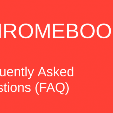 Chromebook Frequently Asked Questions (faq)