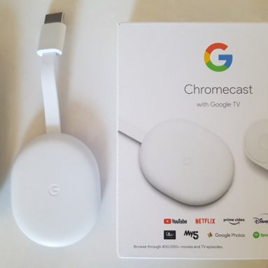Chromecast with Google TV and finally a remote control