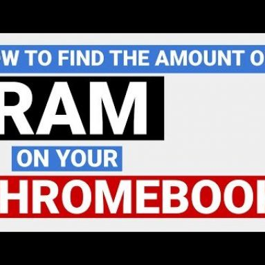 How to check amount of RAM installed on your Chromebook
