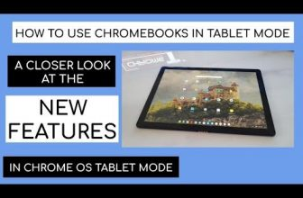 How to use the new Chrome OS tablet functions