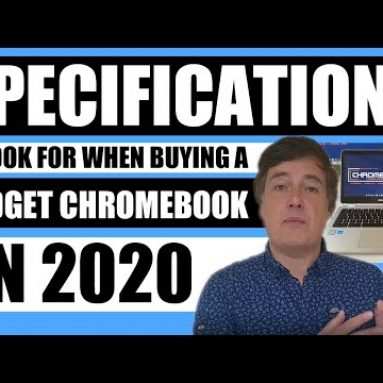 What to look for when buying a budget Chromebook in 2020
