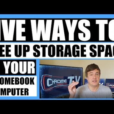 Five ways to free up storage space on your Chromebook