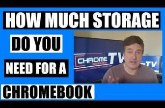 How much storage space do you need on a Chromebook in 2020