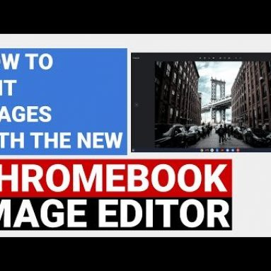 How to use the new Chromebook image editor
