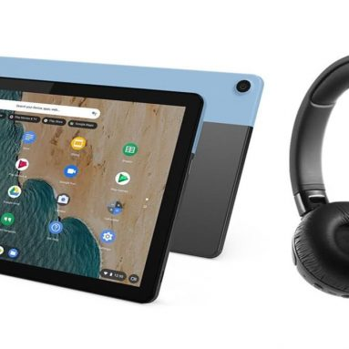 Lenovo Ideapad Duet Chromebook with free noise-cancelling headphones